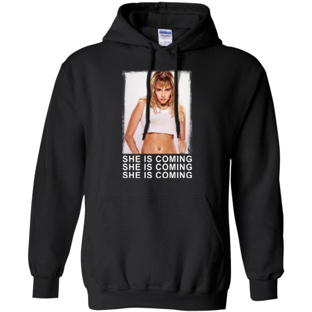 Miley Cyrus She Is Coming Hoodie Perfect Gift for Miley Fans TT08-Bounce Tee