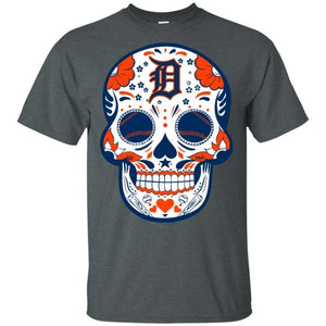 Minnesota Twins Sugar Skull Baseball Team Shirt Fan Gift Idea LT02-Bounce Tee