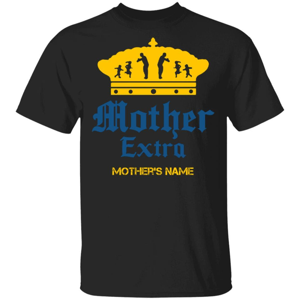 Mother Extra Corona Extra Mother Personalized T-shirt Mother's Day Beer Tee MT05-Bounce Tee
