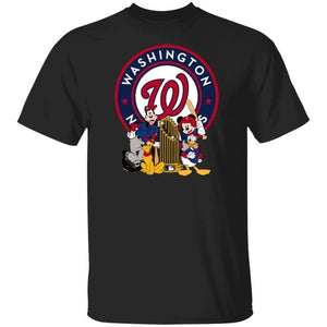 Nationals Champions Shirt Mickey And Friends Gift For Fans VA10-Bounce Tee