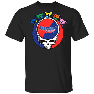 Natural Light In Grateful Dead Head T-shirt Grateful Beer Tee PT03-Bounce Tee
