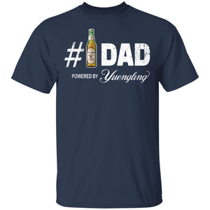Number 1 Dad Powered By Yuengling T-shirt Father's Day Beer Tee MT05-Bounce Tee