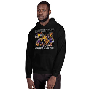 Number 24 Kobe Bryant Greatest Of All Time Hoodie Perfect Gift For Fans VA09-Bounce Tee