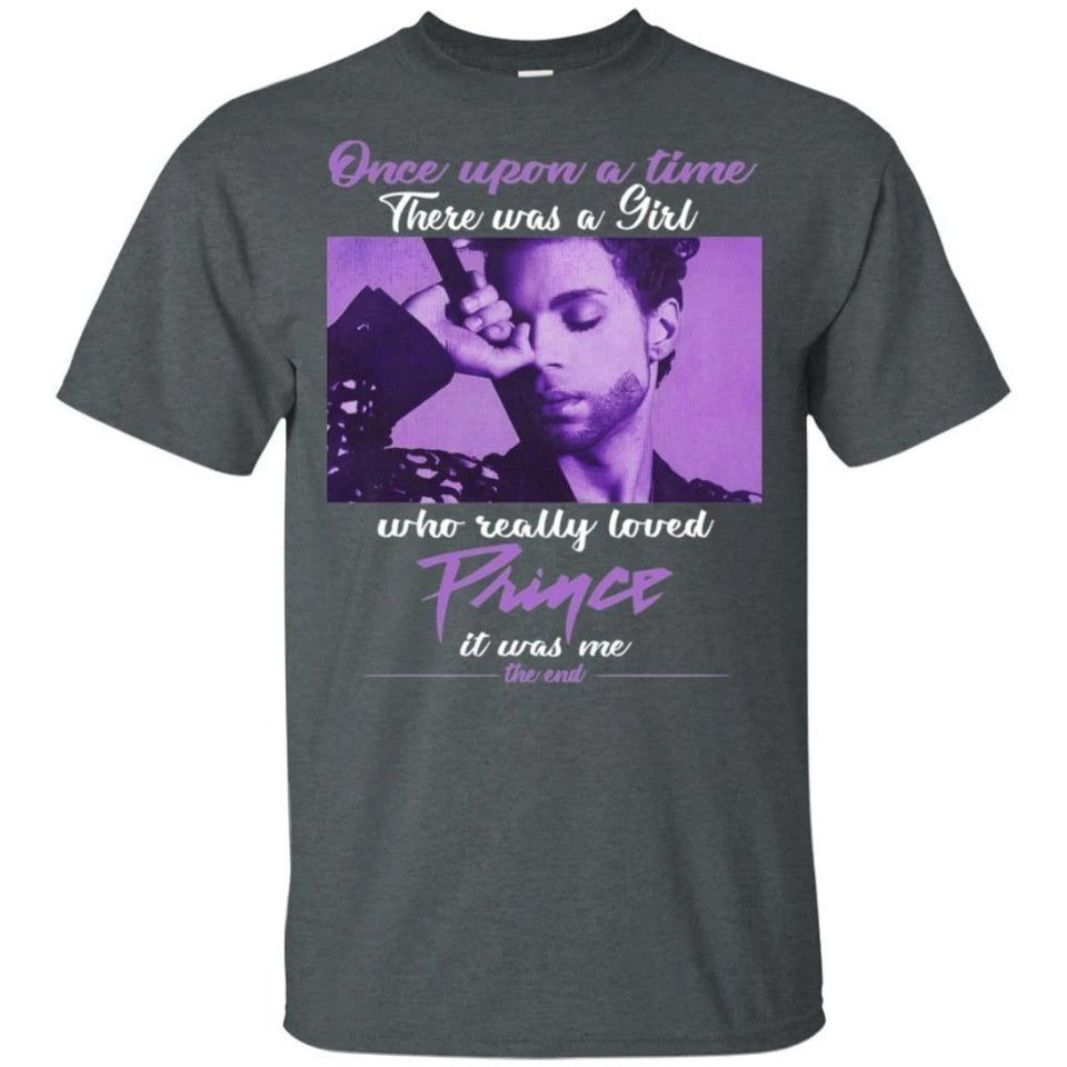 Once Upon A Time There Was A Girl Who Really Loved Prince T-Shirt Gift VA07-Bounce Tee