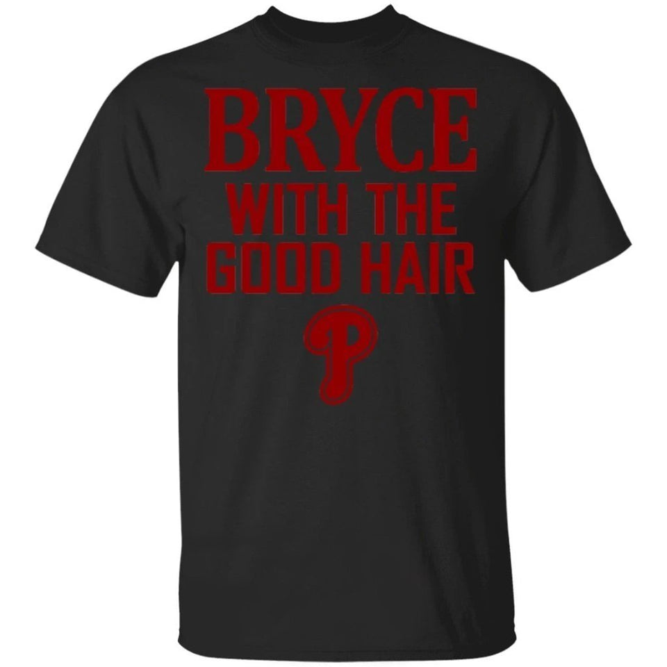 Philly Bryce Harper With The Good Hair Harper Philly Fan T-Shirt VA03-Bounce Tee