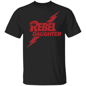 Rebel Daughter T-shirt David Bowie Mixed Star Wars Family Tee MT05-Bounce Tee