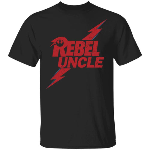 Rebel Uncle T-shirt David Bowie Mixed Star Wars Family Tee MT05-Bounce Tee