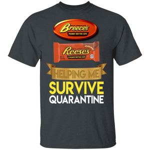 Reese's Helping Me Survive Quarantine T-shirt HA05-Bounce Tee