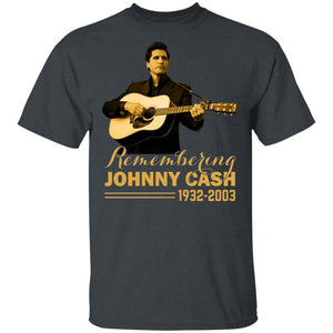 Remembering Johnny Cash T-shirt Music Legend Tee HA04-Bounce Tee