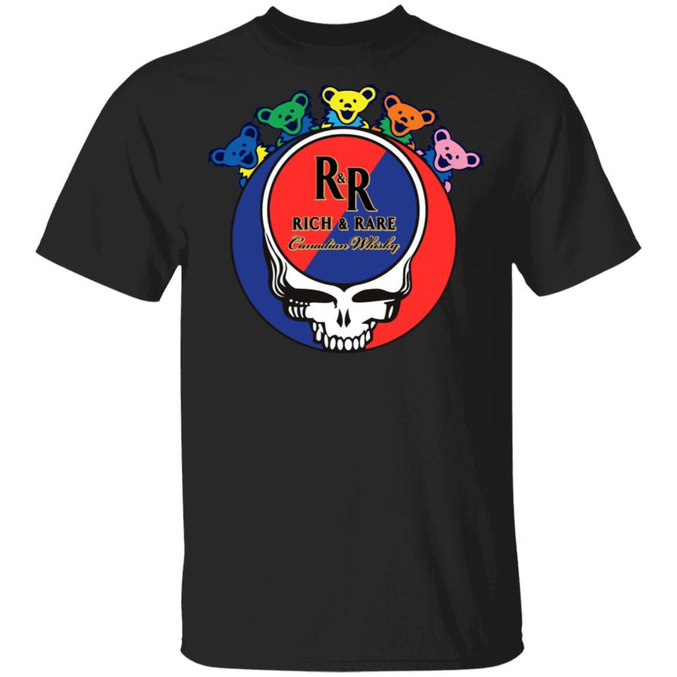 Rich And Rare In Grateful Dead Head T-shirt Whisky Tee PT03-Bounce Tee