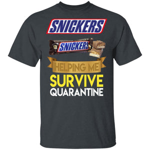 Snickers Helping Me Survive Quarantine T-shirt HA05-Bounce Tee