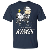 Snoopy & Peanut Los Angeles Kings Hockey T-Shirt-Bounce Tee