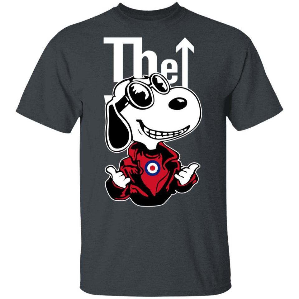 Snoopy The Who T-shirt Rock Band Tee MT12-Bounce Tee