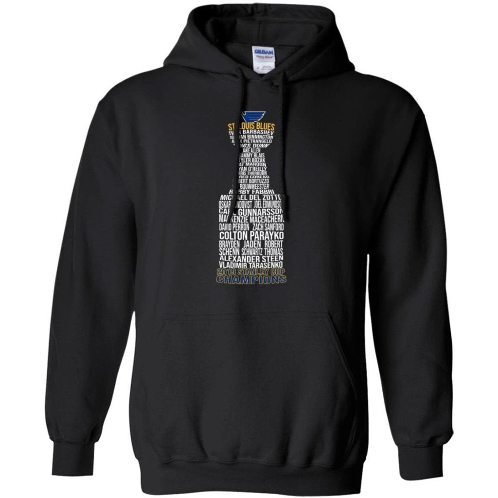St Louis Blues The Champion Fantastic in Stanley Cup Trophy Hoodie Gift For Fans VA10-Bounce Tee