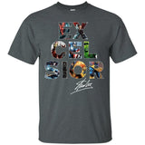 Stan Lee Excelsior T-Shirt Signature For Fan Gift Idea-Bounce Tee