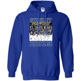 Stanley Cup St. Louis Blues Team Signatures Champions 2019 Hoodie VA06-Bounce Tee
