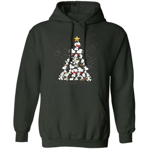 The Christmas Snoopy Tree In The Snow Hoodie Cute Gift MT10-Bounce Tee