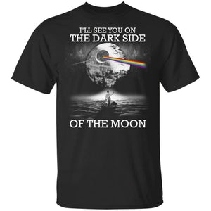 The Dark Side Of the Moon Star War Vs Pink Floyd T-Shirt-Bounce Tee
