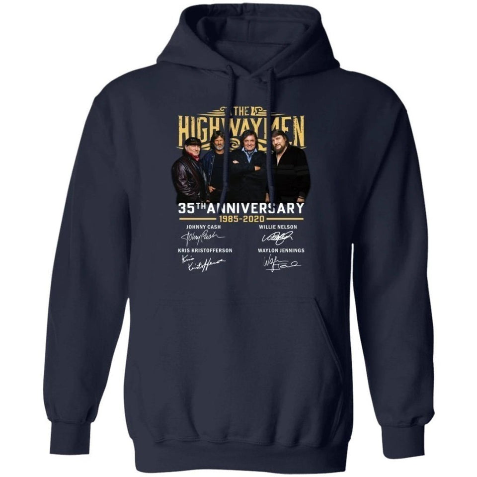 The Highwaymen 35th Anniversary Hoodie Cool Gift For Fans VA09-Bounce Tee