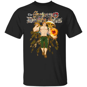 The Seven Deadly Sins Escanor T-shirt Anime Tee VA04-Bounce Tee