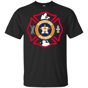 This Firefighter Loves Houston Astros T-shirt Fan-Thebouncetee.com