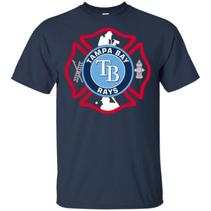 This Firefighter Loves Tampa Bay Rays T-shirt Fan-Thebouncetee.com