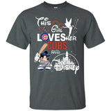 This Girl Love her Cubs Team and Disney T-Shirt-Bounce Tee