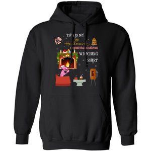 This Is My Pink Panther Hallmark Christmas Movie Watching Hoodie HA10-Bounce Tee