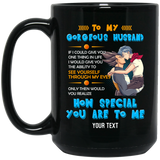 To My Gorgeous Husband Dragon Ball Personalized Mug HA04-Bounce Tee