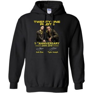Twenty One Pilots 10th Anniversary Hoodie Perfect Gift For Fans MN08-Bounce Tee