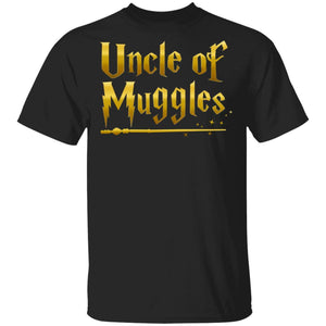 Uncle Of Muggles T-shirt Harry Potter Uncle Tee VA05-Bounce Tee
