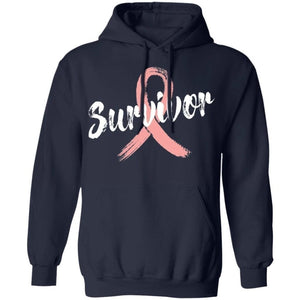 Uterine Cancer Survivor Cancer Awareness Hoodie Meaningful Gift VA09-Bounce Tee