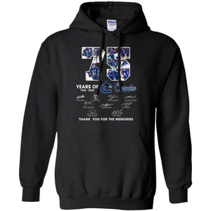 Vancouver Canucks 75th Anniversary Hoodie Fan Gift Idea-Bounce Tee