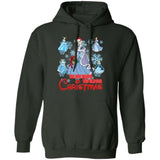 We Are Never Too Old For Christmas Cinderella Hoodie Disney Gift HA11-Bounce Tee