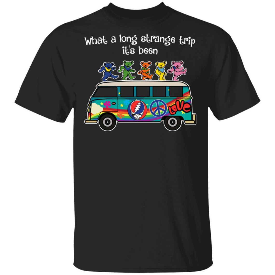 What A Long Strange Trip It's Been Grateful Dead T-shirt MN02-Bounce Tee
