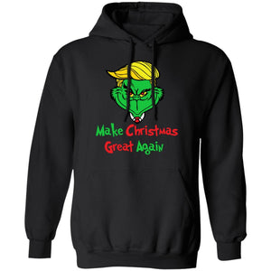 Xmas Hoodie Make Christmas Great Again Grinch Trump Hoodie Funny Xmas Gift PT12-Bounce Tee