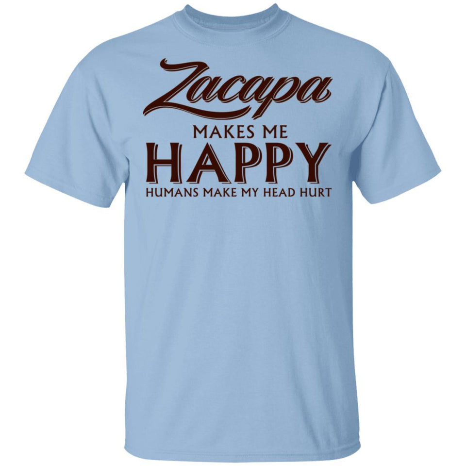 Zacapa Makes Me Happy T-shirt Rum Tee VA12-Bounce Tee