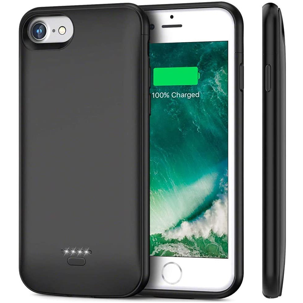 Battery Case For iPhone 7 iPhone 8 Yicente 4000mAh External Battery Charger Case Portable Extended Battery Charging Case Rechargeable Backup Battery Pack Power Bank Case For iPhone 7 iPhone 8