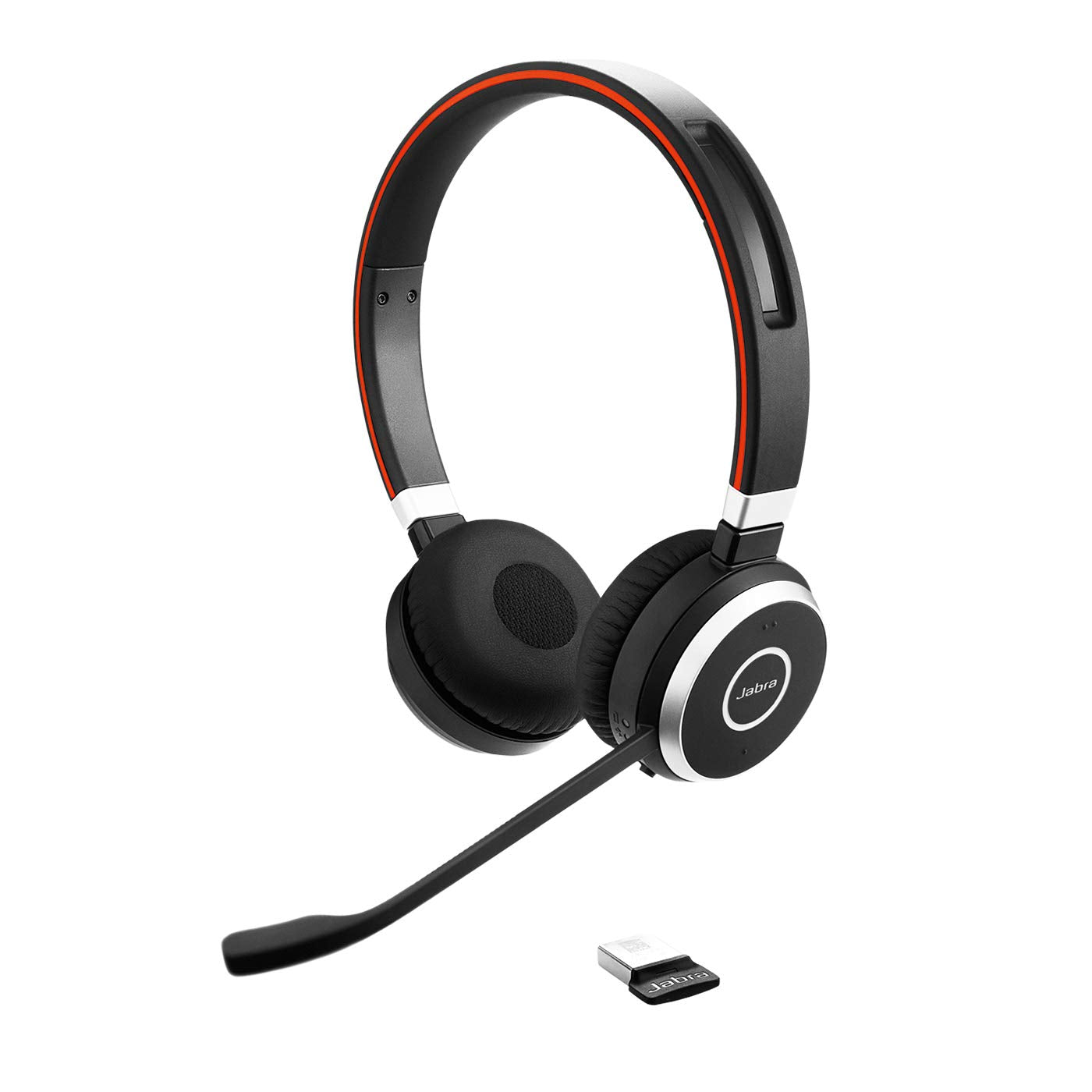 Jabra Evolve 65 UC Wireless Stereo On-Ear Headset