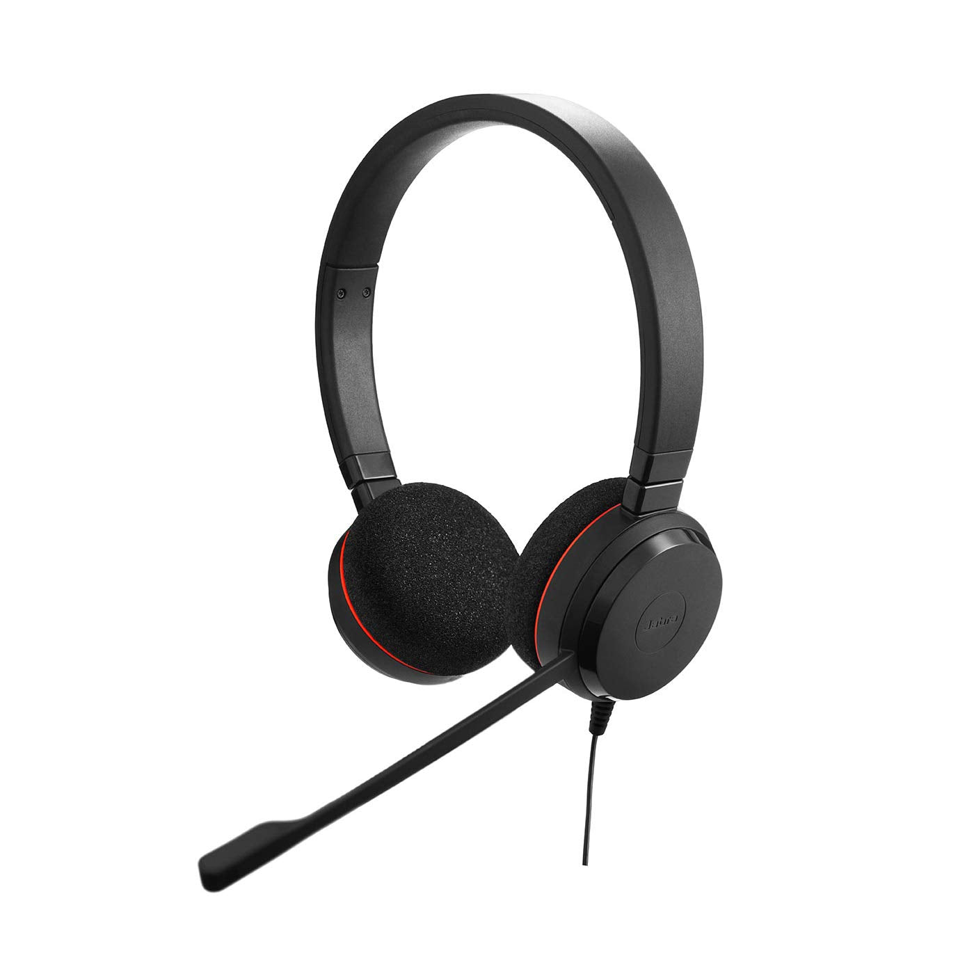 Jabra Evolve 20 UC Stereo Headset – Headphones for VoIP Softphone