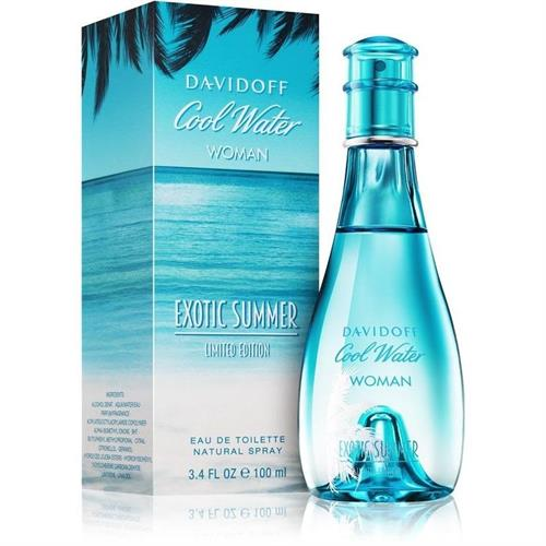 Davidoff Coolwater Exotic Summer for Woman EDT 100ML (Parallel Import) Retail Box No Warranty
