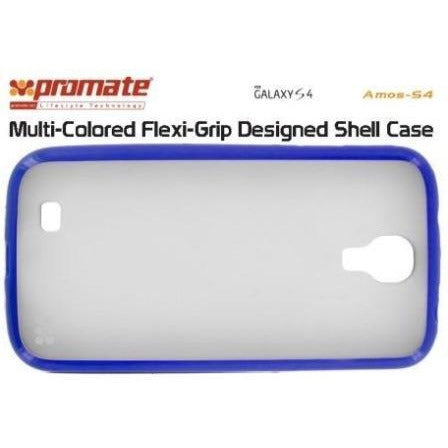 Promate Amos S4 Samsung Galaxy S4 Flexi-Grip Designed Shell Case Colour: Blue Flexi-grip designed