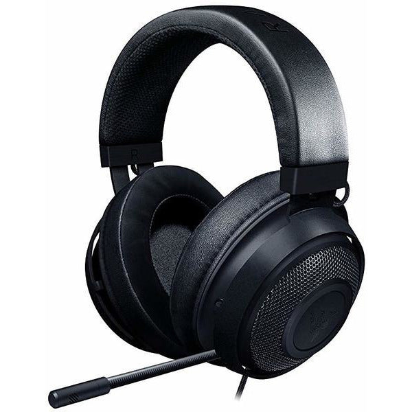 RAZER KRAKEN BLACK GAMING HEADSET with Cooling Gel Earpads for Ambitious Gamers (PC/Gaming), Retail Box , 1 Year warranty