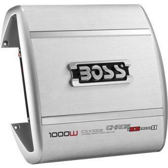 Boss Audio CHAOS EXXTREME 1000 Watts 2-Channel MOSFET Power Amplifier, Retail Box , 1 year Limited Warranty