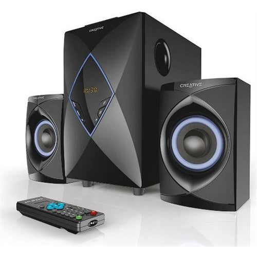 Creative SBS-E2800 2.1 High Performance Speaker System - High performance speaker system that