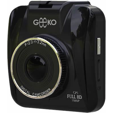 Geeko In-Car Dash Cam DVR Standard Entry Level with 2.4 inch TFT Colour LCD Screen - 1.3 Mega pixels Hardware Resolution , Video Recording Resolution 1080i / Up to 1080p Interpolated to Full HD by software , Support Auto Video recording , Support Night-vision , Built-in microphone , G-sensor file protect , Built-in lithium battery 300mAh ,Support microSD card up to 32GB , Unlimited video recording, Mini USB port – Black , Retail Box , 1 year Limited Warranty