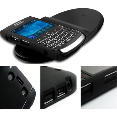 Promate Aircase.9700 receiver charger case for Blackberry9700 , High-quality matt surface case finish,form fitted for untimate device protection,easy control to all controls and ports,over current protection and short circuit protection, Retail Box, 1 Year Warranty