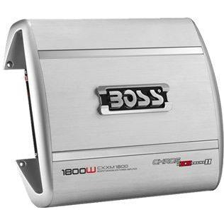 Boss Audio CHAOS EXXTREME 1800 Watts MOSEFT Monoblock Power Amplifier, Retail Box , 1 year Limited Warranty