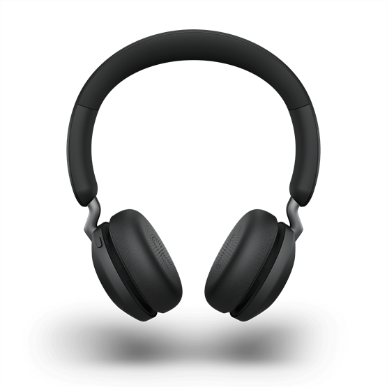 Jabra Elite 45h Bluetooth Over Ear Headphones with ANC and SmartSound Technology, Alexa Built-In