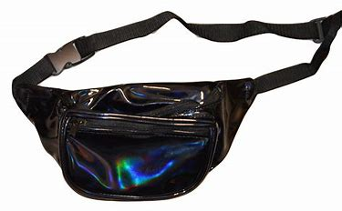Waist Bag Casual Bag Holographic Fanny Pack